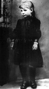 St Gemma Galgani as child